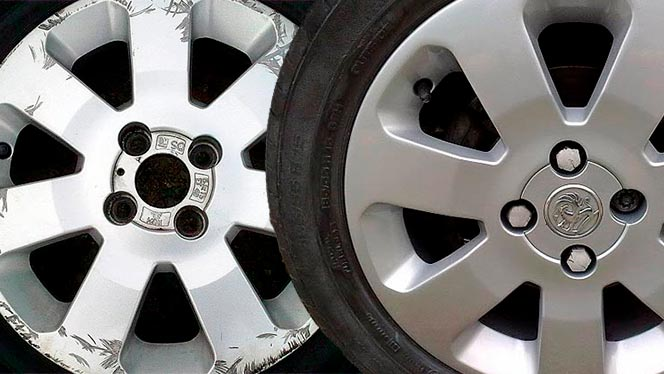 Allow wheel refurbishment